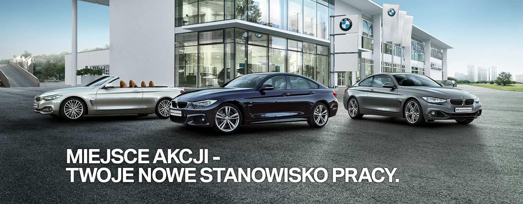 Praca u dealera BMW