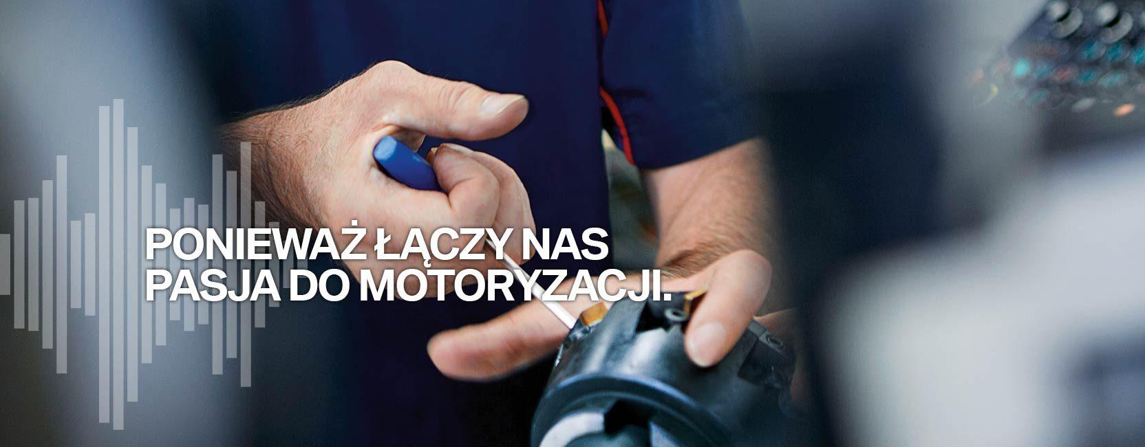 Łączy nas pasja do motoryzacji