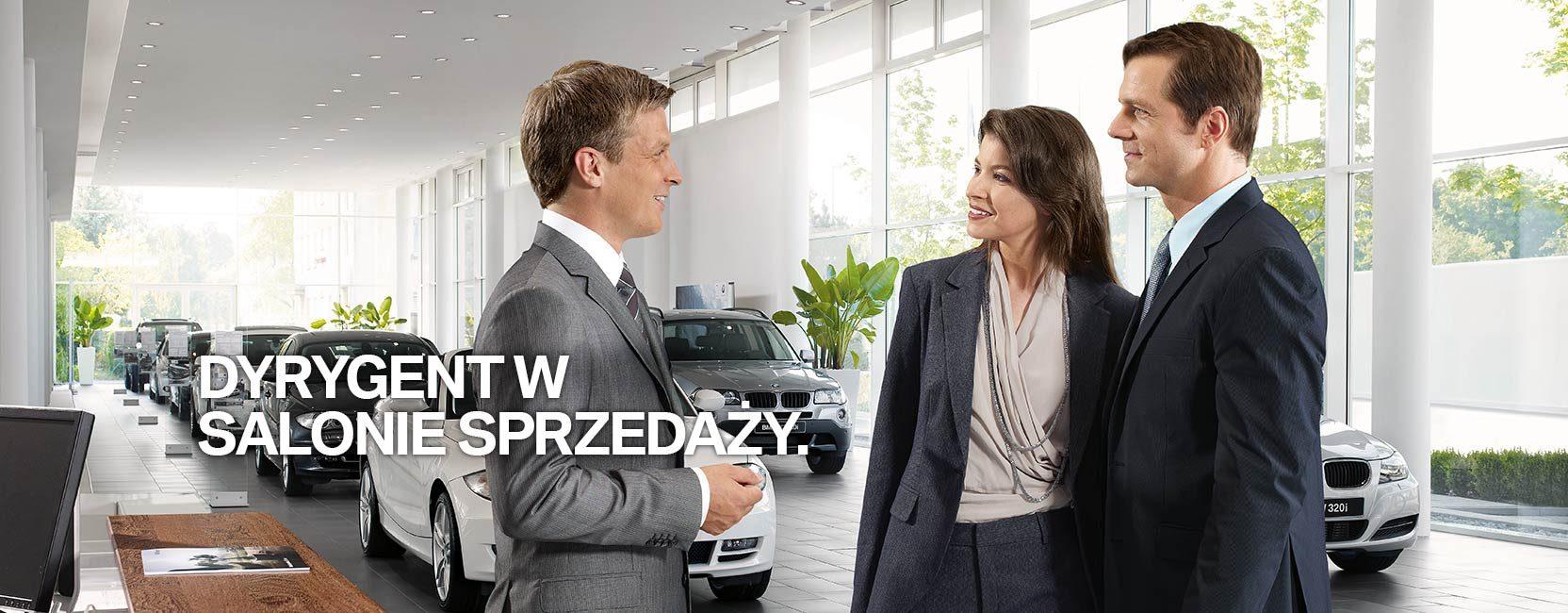 Kierwonik działu sprzedaży BMW