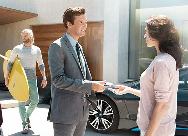Doradca ds. sprzedaży samochodów BMW